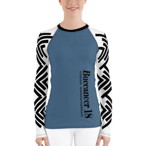 Rash Guard - Buccaneer 18 Women's Rash Guard With UPF