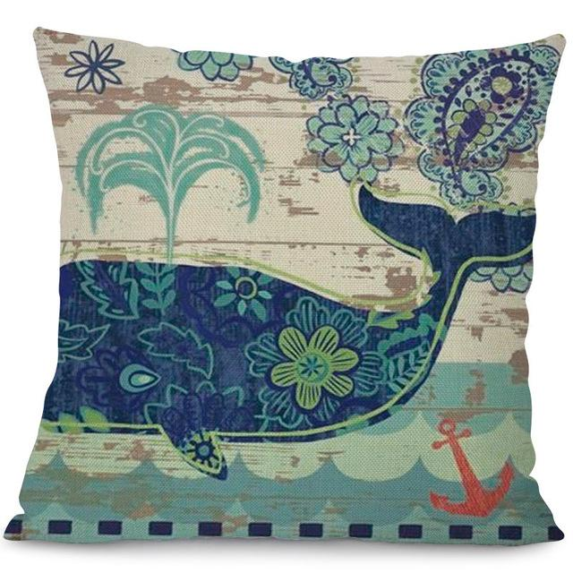 Sea Marvels Pillow Cases Whale I Damn Skippy Wear