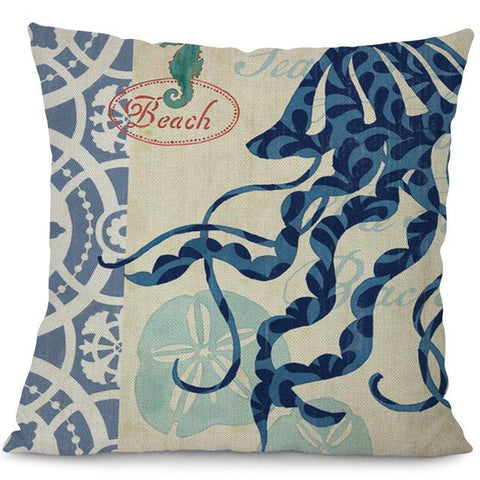 Sea Marvels Pillow Cases Jelly fish I Damn Skippy Wear