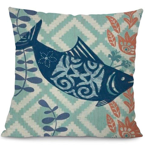 Sea Marvels Pillow Cases Salmon I Damn Skippy Wear
