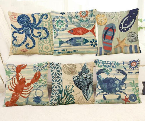 Image of Sea Marvels Pillow Cases I Damn Skippy Wear