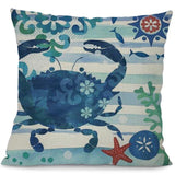 Image of Sea Marvels Pillow Cases Crab I Damn Skippy Wear