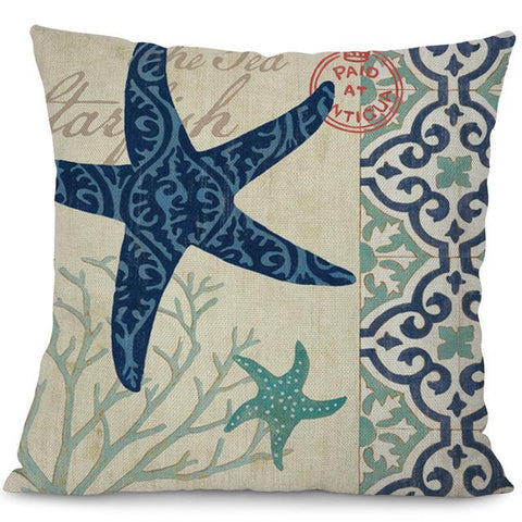 Image of Sea Marvels Pillow Cases Star fish I Damn Skippy Wear
