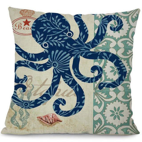 Sea Marvels Pillow Cases Octopus I Damn Skippy Wear