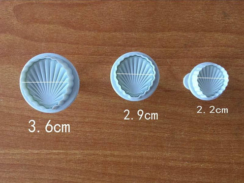 Image of Sea Shell Cookies Cutter