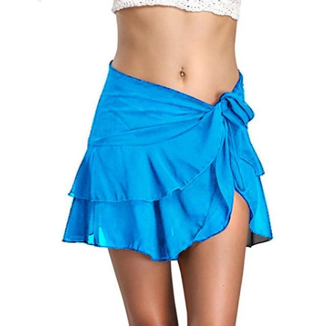 Skirt - Salsa Beach Skirt Bikini cover blue
