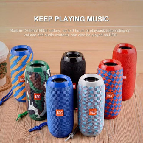 Image of Speaker - Waterproof Bluetooth Outdoor Speaker