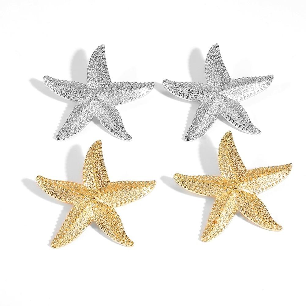 Starfish Statement Earrings