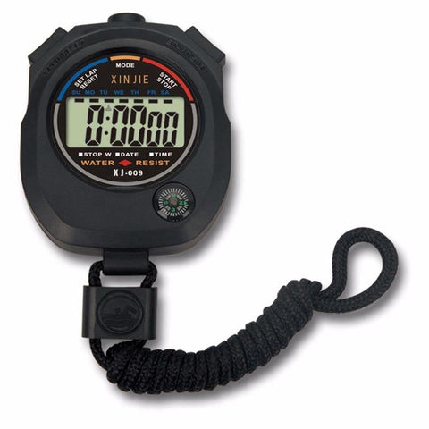 Stop Watch - Water Resistant Digital LCD Stopwatch