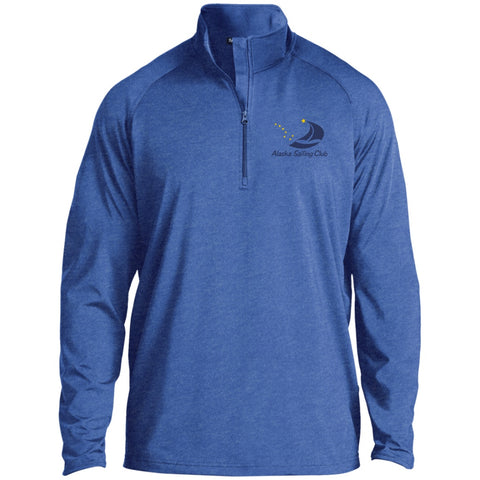 Sweatshirts - ASC Men's 1/2 Zip Raglan Embroidered Performance Pullover, Polyester