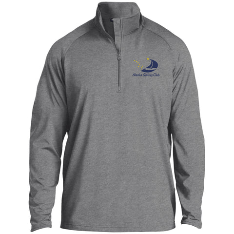 Image of Sweatshirts - ASC Men's 1/2 Zip Raglan Embroidered Performance Pullover, Polyester
