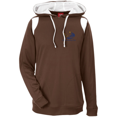 Sweatshirts - ASC Men's Colorblock Embroidered Poly Hoodie