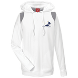 Image of Sweatshirts - ASC Men's Colorblock Embroidered Poly Hoodie
