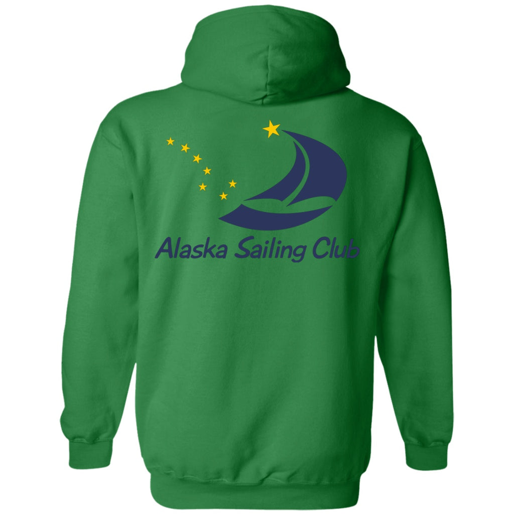 Sweatshirts - ASC Unisex Hoodie (Front & Back Logo), Poly-Cotton