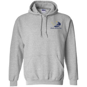 ASC Unisex Hoodie (Front & Back Logo), Poly-Cotton