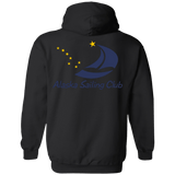 Image of Sweatshirts - ASC Unisex Hoodie (Front & Back Logo), Poly-Cotton