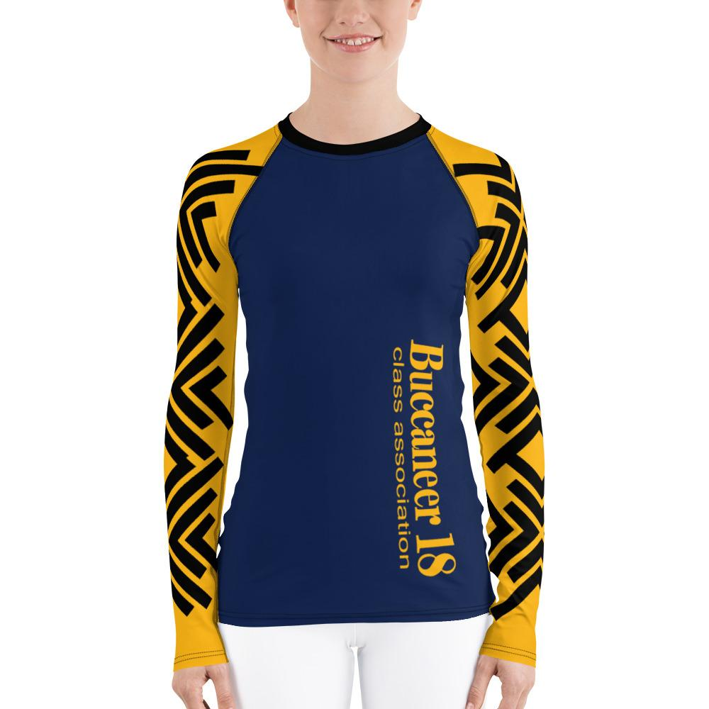 T-shirt - ASC Women's Rash Guard With UPF, Polyester/Spandex