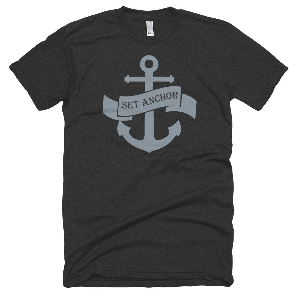 T-shirt - Premium Set Anchor T-Shirt Grey