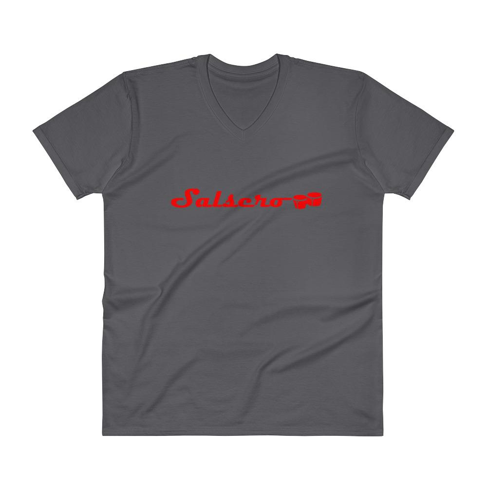 T-shirt - Salsero Men's V-Neck
