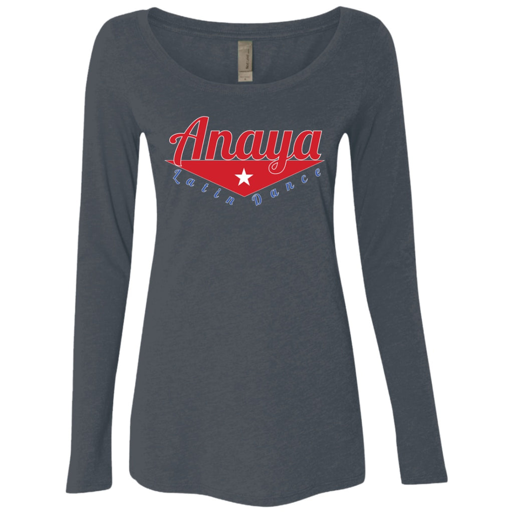 T-Shirts - ALD Women's LS Triblend Scoop