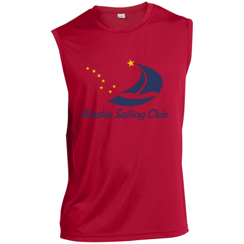 Image of T-Shirts - ASC Men's Sleeveless Performance T-Shirt, Polyester
