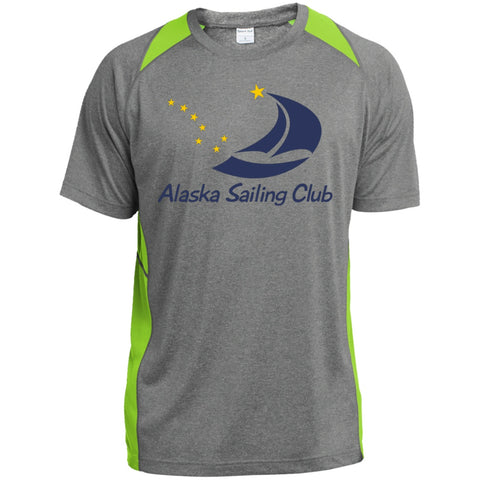 Image of T-Shirts - ASC Youth Colorblock Performance T-Shirt, Polyester