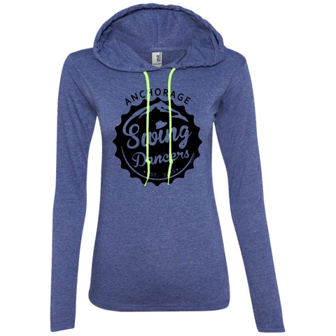 T-Shirts - ASD Women's Long Sleeve T-Shirt Hoodie, Cotton