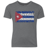 Image of T-Shirts - Cuban Dance Flag Youth Triblend Crew T-shirt