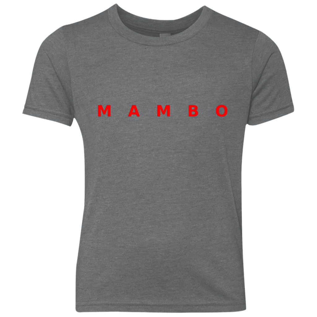 T-Shirts - Mambo Youth Triblend Crew