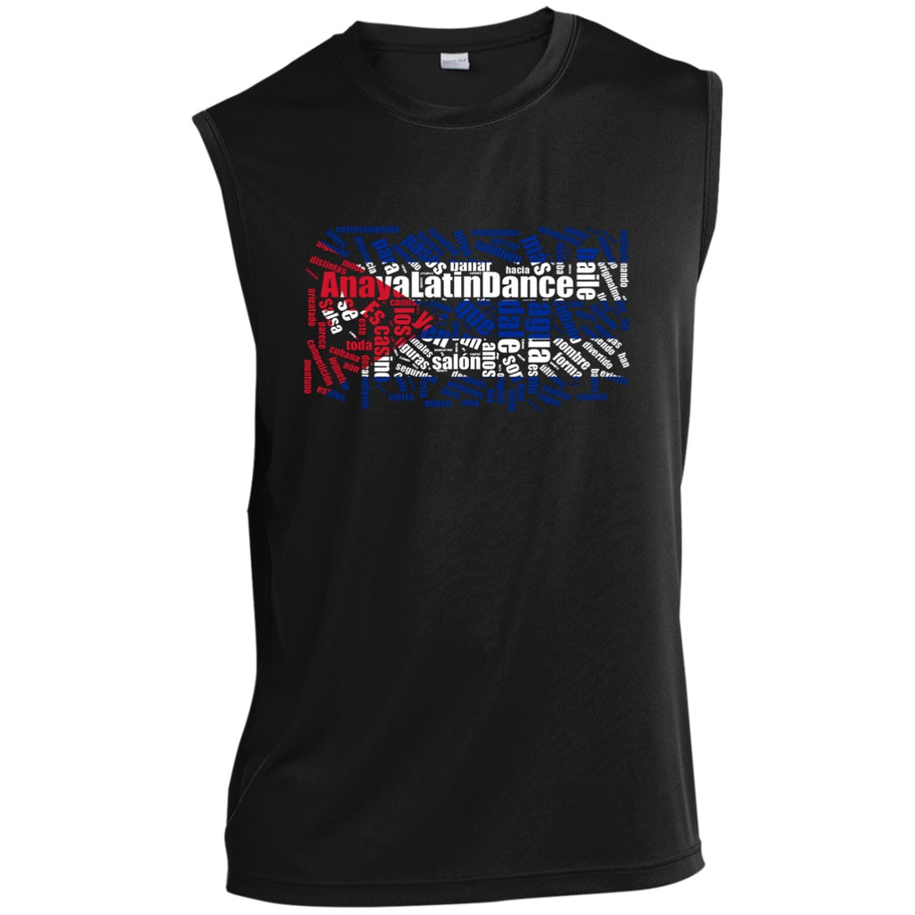 Tank Top - ALD Men's Sleeveless Performance T-Shirt (Polyester)