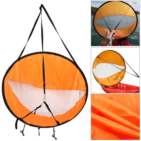 Water Sports - Foldable Wind Sail For Kayak, SUP, Canoe And Paddle Boat