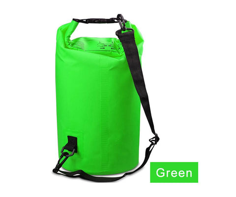 Water Sports - Waterproof Dry Bag For Rafting, Kayaking, Sailing, Canoeing (2L, 3L, 5L) Green