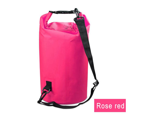 Water Sports - Waterproof Dry Bag For Rafting, Kayaking, Sailing, Canoeing (2L, 3L, 5L) Pink