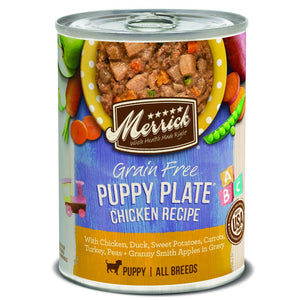 Merrick Grain Free Puppy Plate Canned Dog Food