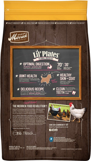 Merrick Lil' Plates Small Breed Grain Free Real Chicken & Sweet Potato Dry Dog Food