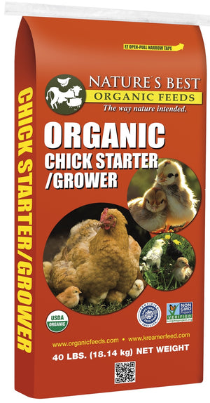 Nature's Best Organic Chick Starter/Grower