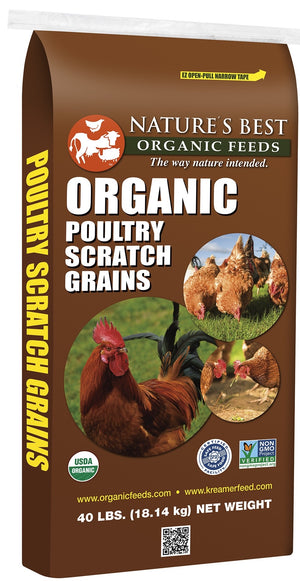 Nature's Best Organic Poultry Scratch Grains