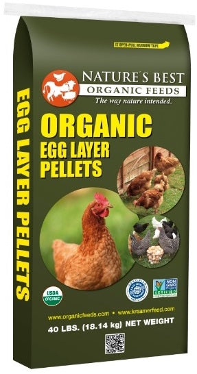 Nature's Best 16% Organic Egg Layer Pellets