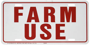 Bledsoe Farm Use Tags