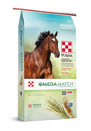 Purina® Omega Match™ Ration Balancing Horse Feed