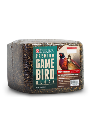 Purina® Premium Game Bird Block