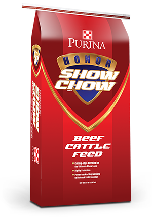 Purina® Honor® Show Chow® Finishing Touch®