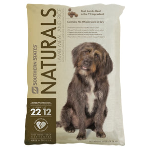 Southern States Naturals Lamb Meal and Rice Dog Food