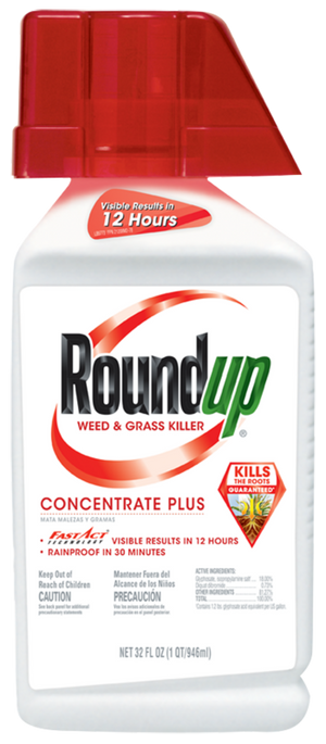 RoundUp Weed/Grass Killer Concentrate  36.8 oz