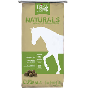 Triple Crown Naturals Premium Alfalfa-Timothy Forage Cubes