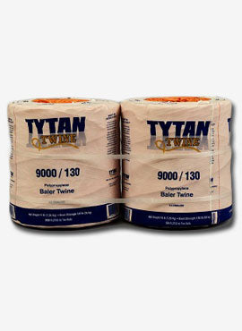 Tytan 9.6M Orange Poly Square Baler Twine