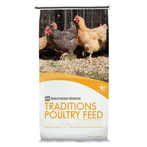 Southern States Traditions Egg Layer Poultry Feed Crumbles