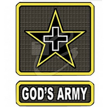 Load image into Gallery viewer, Proudly Serving in God's Army ... You Should Be Too !  T-shirt