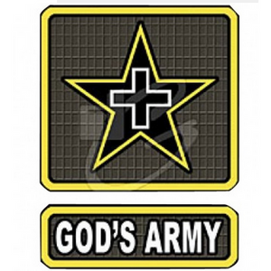 Proudly Serving in God's Army ... You Should Be Too !  T-shirt