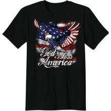 Load image into Gallery viewer, God Bless America T-shirt